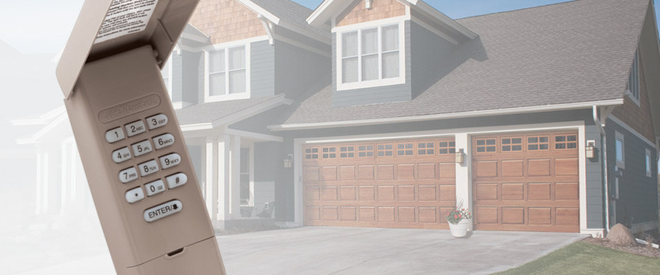 Garage Door & Gate Remotes, Buttons, and Keypads