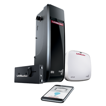 BD Garage Door & Gate Supply - LiftMaster DC Battery Backup Wall Mount Wi-Fi Garage Door Opener