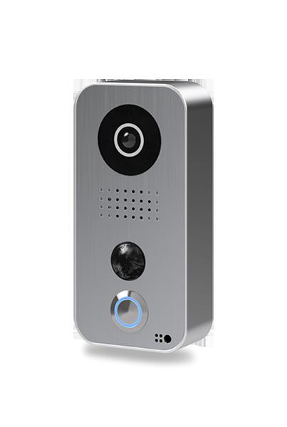 DoorBird IP Video Door Station D101S, Polycarbonate housing, Strato-Silver Edition